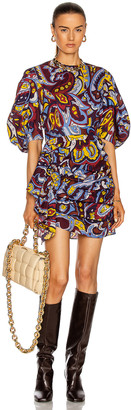Rhode Resort Pia Dress in Retro Paisley Ice | FWRD