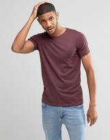 Lindbergh T-Shirt With Crew Neck In Stretch