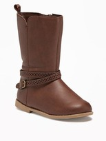Old Navy Tall Buckled Boots for Toddler