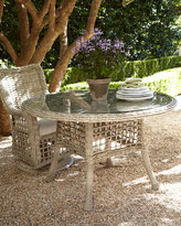 Horchow Madison Bay Round Outdoor Dining Table