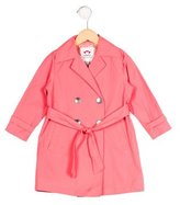 Appaman Fine Tailoring Girls' Double-Breasted Trench Coat w/ Tags