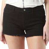 Jacqueline De Yong Womens Skylar Denim Shorts Black