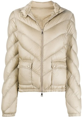 Moncler Flap Pockets Padded Jacket