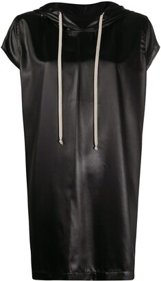 Rick Owens Performa hooded jumbo T-shirt