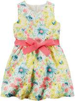 Carter's Floral Print Sleeveless Dress - Preschool Girls 4-6x