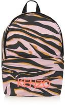 Kenzo Girls Pink Tiger Backpack
