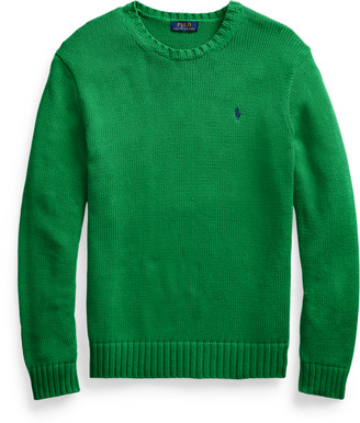 Ralph Lauren Iconic Cotton Crewneck Jumper
