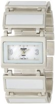 Essential Products Essential by A.B.S Women's 40061 Enamel and Metal Links Watch