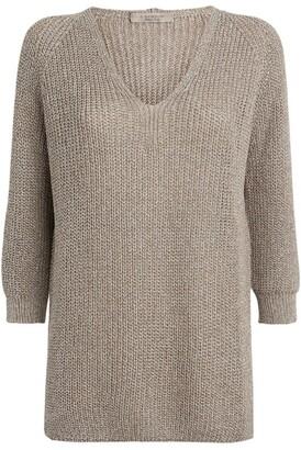 D-Exterior D.Exterior Knitted V-Neck Sweater