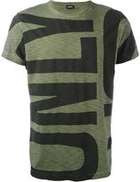 Diesel printed slogan T-shirt - men - Cotton - M