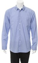 Jil Sander Plaid Button-Up Shirt