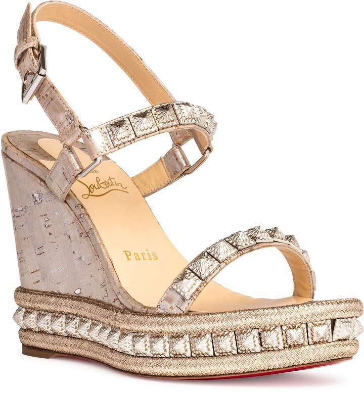 sports shoes 7fabc 769d0 Pyradiams 110 lige pepite silver wedges