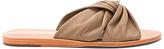 Kaanas Belem Knot Slide Sandal in Brown. - size 8 (also in )
