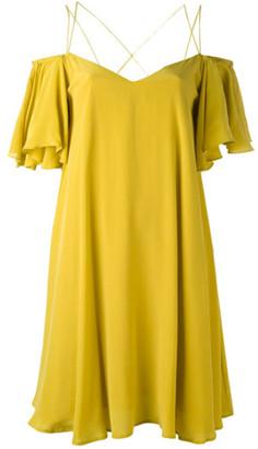 Essentiel Antwerp Dress - 36 | silk | yellow - Yellow/Yellow
