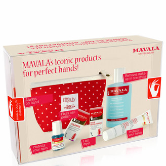 Mavala Anniversary Set with 60's Red Dot Purse (Worth 35.00)