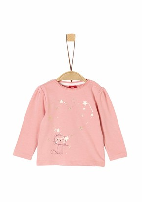 S'Oliver Baby Girls' 65.911.31.7727 Long Sleeve Top