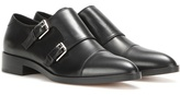 Gianvito Rossi Dover Leather Monk Shoes