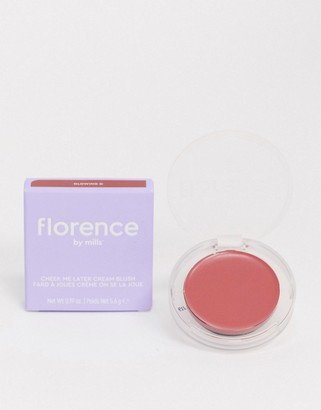Florence By Mills Cheek Me Later Cream Blush - Glowing G-Pink