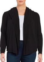 MICHAEL Michael Kors Plus Knit Open-Front Cardigan