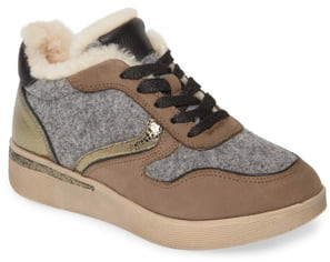 Kenneth Cole Gentle Souls by Haddie Genuine Shearling Lined Sneaker Boot