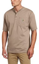 Carhartt Men's Workwear Pocket Short Sleeve Henley Original Fit Shirt K84