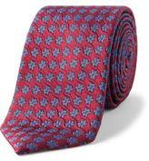 Simon Carter Cog Floral Tie