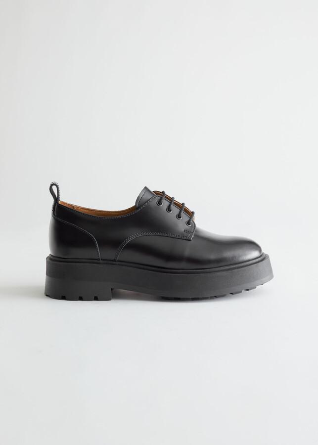 Chunky Oxford Heels | Shop the world's