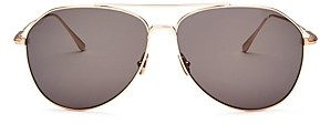 Tom Ford Men's Cyrus Brow Bar Aviator Sunglasses, 62mm