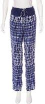Thakoon Silk Printed Pants