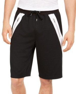 INC International Concepts Inc Men's Regular-Fit Colorblocked Drawstring Shorts, Created for Macy's