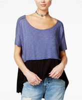 Free People Midnight Colorblocked T-Shirt