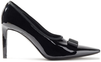 Balenciaga Bow-embellished Patent-leather Pumps