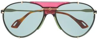 Gucci interlocking G aviator sunglasses