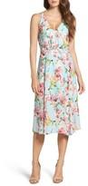 Adelyn Rae Women's Print Midi Dress