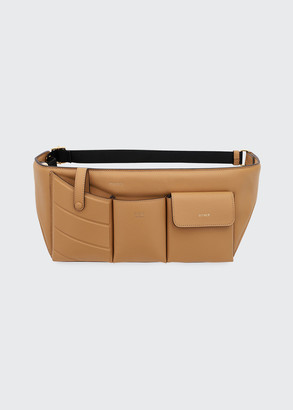 Fendi Leather Pouch Belt Bag