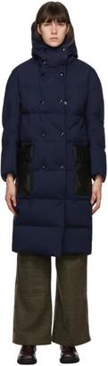 Marni Navy Down Long Coat
