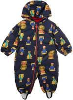 Joules Toddler Boy Snowsuit Lion Hood
