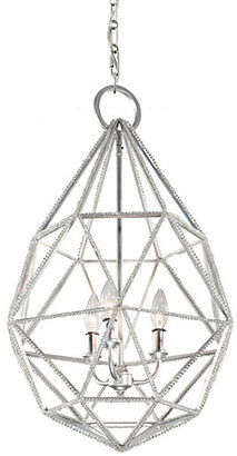 Feiss Marquise 3-Light Pendant - Silver