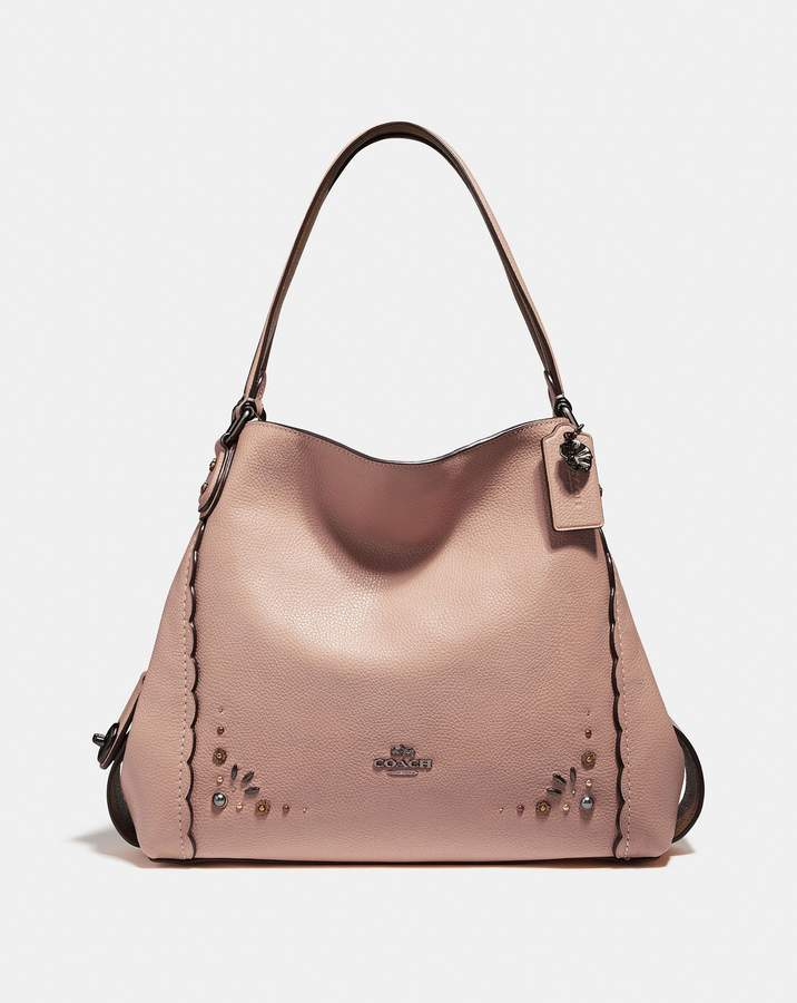 Coach Edie Shoulder Bag 31 With Prairie Rivets Detail