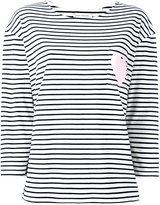 Chinti and Parker heart pocket T-shirt - women - Organic Cotton - M