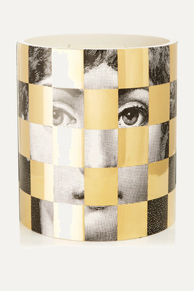 Fornasetti Scacco Otto Scented Candle, 1.9kg - Gold