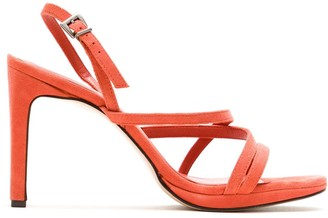 Alcaçuz Nisia leather sandals