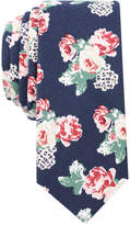 Bar III Men's Floral Skinny Tie, Only at Macy's