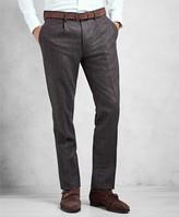 Brooks Brothers Golden Fleece Single-Pleat Flannel Trousers
