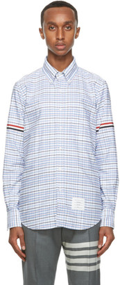 Thom Browne Multicolor Oxford Check Straight Fit Shirt