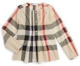 Burberry Brea Pintuck Blouse (Little Girls & Big Girls)