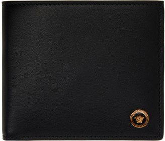 Versace Black Small Medusa Wallet