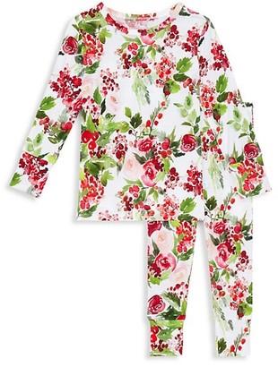 Posh Peanut Baby's, Little Girl's & Girl's Delia 2-Piece Long-Sleeve Pajama Set