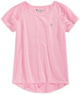 Champion Little Girls' High-Low Hem T-Shirt