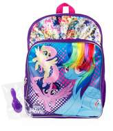 "My Little Pony 16"" Kids' Backpack with Hair and Brush"